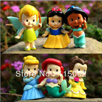 Wholesale Free shippping High Quality PVC Princess Tinkerbell doll toy Collection Figure Retail