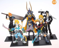 Wholesale Anime PVC CM FINAL FANTASY VII Cloud Squall Tidus Figure Set of
