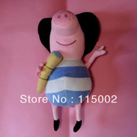 Wholesale george trial Pirate peppa George pig Pirates doll soft toy sets height cm in large size