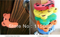 New Year animal guards - Child kids Baby Animal Cartoon Jammers Stop Door stopper holder lock Safety Guard Finger Protect