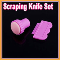 Wholesale Nail Art Stamping Stamp Tools Scraping Knife Set Brand New