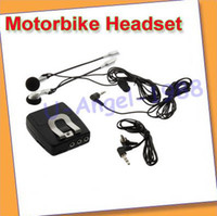Wholesale motorbike Motorcycle Helmet Intercom Headset Way MP3
