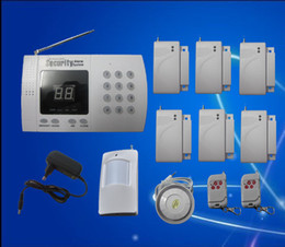 Wholesale New Wireless home Security System Alarm Auto Dialer Factory sales Fast shipping S217