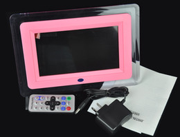 Wholesale 10pcs inch DIGITAL LCD Photo Frame Mp3 Mp4 Player REMOTE CONTROL Music Video playert