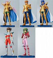 Wholesale 4 inch Solid PVC Saint Seiya Action Figures Collection Set generation Saint Seiya
