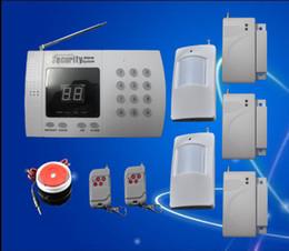 Le moins cher meilleure qualité Installation facile sans fil à domicile de sécurité antivol Auto Dial alarme S218 cheap security easy à partir de sécurité facile fournisseurs