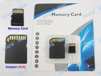Wholesale DHL EMS GB Class Micro SD TF Memory Card Flash SD SDHC Cards Adapter Gift Top Grfie fiofcw