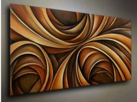 Wholesale modern abstract beautiful oil painting art no frame