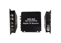 Cheap Car Mobile HD DVB-T Digital TV Receiver Box with 2 DiBcom Tuners HDMI MPEG-4 H.264,Support PVR
