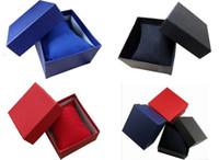 Wholesale 20pcs low price cm Mix color bracelets box Watch Box Gift Jewelry box Necklace box