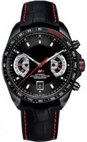 Wholesale Mens Sport Watch Grand Date Calibre RS Black Leather Automatic Men Watches