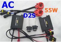 Wholesale Slim Kit Set D2S XENON Single beam HID Conversion Kit V AC W FFF
