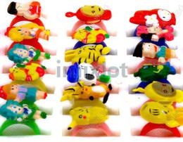 Cute Rings 200pcs lot New Fashion Kids Children's Arcylic Ring Cute Animal Cheap Jewelry [KR09*200]
