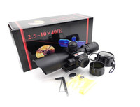 Wholesale New Mini X40 Rifle scope Red Green Dot and Red Laser Scope of Laser Aim