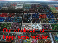 Wholesale Owl flower Italian venetian lampwork blown murano glass handmade pendants for necklaces jewelry fashion pendants necklaces MUP109