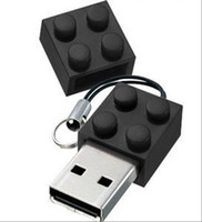 Wholesale cartoon blocks GB USB Flash Memory Pen Drive Stick Drives Sticks Disks