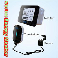 Wholesale Real time Wireless Energy Monitor for Electricity Carbon power meter saver CO2 emission