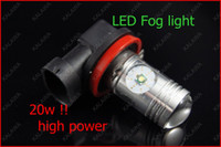 Wholesale H11 W Fog light LED lamp High Power USA CREE chipset Super Bright head lamp White FFF
