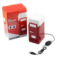 Wholesale Mini USB PC Fridge Beverage Drink Cans Cooler Warmer