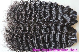 Wholesale Spiral Curl and mix length Brazilian Virgin Hair Weave Human Hair Extension