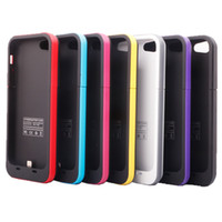 Cheap 2000mAh Battery case Best iphone 5G/5S Black pink bule Battery charger