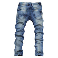 Wholesale Cheap Price Mens Classic Jeans Designer Men s Slim Fit Jeans Casual Jeans Long Strouser With Tags