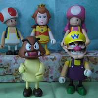 Wholesale super mario game figures hands and feet moving cm