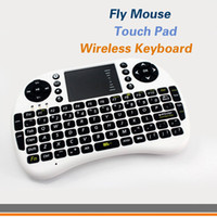 Wholesale Mini Fly Air Mouse Wireless Keyboard touch pad For Google Android Mini PC TV Palyer BOX