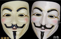 Wholesale V vendetta team mask scar blood masquerade masks Halloween carnival terror Super Scary factory pric