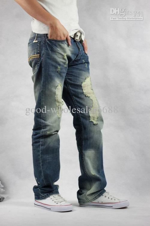 2017 Mens Classic Jeans Designer Men's Slim Fit Jeans Casual Jeans ...