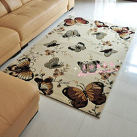 Wholesale The butterfly rises from the beauty to cut flower carpet sitting room the bedroom carpet of tea tabl