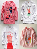 Wholesale 2013 new peppa pig long sleeved girl t shirt brand quot NEXT quot