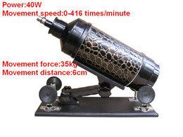 2018 Newest SEX TOY gun cannon machine Dildos masturbation device machine for female Movement Speed 0-416 minute