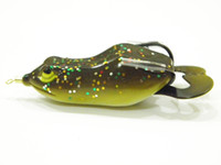 Wholesale Fishing Lure Topwater Frog Hollow Body Soft Bait Fresh Water Deep Water Bass Fishing Tackle FG8F5
