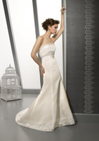 Chapel Autumn/Spring Modern Wow 2013 Noble Strapless Wedding Dresses Gown Ivory Taffeta Applique Bridal Dress Prom Gowns RL122