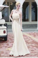 Sheath/Column Modern Appliqué Wow 2013 Elegant Strapless White Ruffles Chiffon Party Dresses Gown Beaded Prom Evening Dress RL185