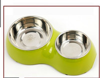 Wholesale super pet bowl cat bowl cat basin the water bowl Fanpen double bowl Love cat