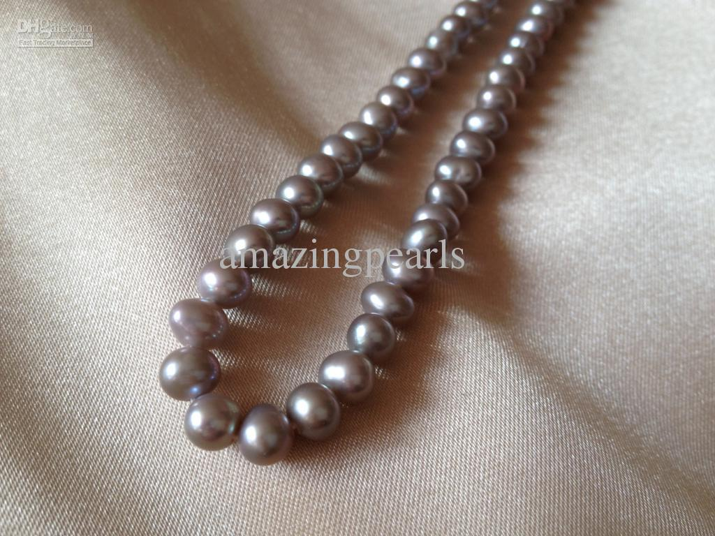 5-6mm Peacock Blue Grey Rice Oval Freshwater Pearls Beads for Jewellery Making