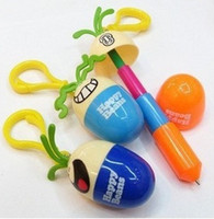 Wholesale SY Christmas gifts new expression smiling face Egg retractable Ball point pen