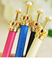 Wholesale SY Imitation pearls Crown ballpoint pen Pencil