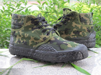 Wholesale Army Green Camouflage shoes shoes running shoes male shoes outdoor high top shoes