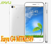 Wholesale Newest MTK6589 Jiayu G4 Jia Yu cell phone GB RAM MP GHz inch Android Smartphone phone