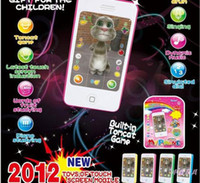 Wholesale for iphone4s upgrade edition English iphone s learning machine toys kid learning toy for baby phone