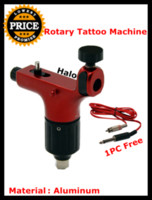 Wholesale New Premium Pro Hot Red Spektra Halo Aluminum Alloy Rotary Tattoo China Machine