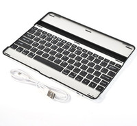 Wholesale For iPad rd Gen Aluminum Thin Bluetooth Wireless KeyBoard Stand Case Cover