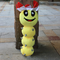 Wholesale Super Mario the yellow Mary worm plush doll toys inch Plush Toy