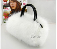 Wholesale Women Noble Fur Handbag Tote Clutch bag Shoulder Bag Personalized New Fashion bags Sample order