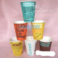 Wholesale Disposable paper cups coffee cups tea cups ounces ounces ounces cups