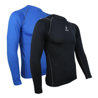 Tops compression shirt - sports compression running Fitness Excercise cycling Clothing shirt jersey tights