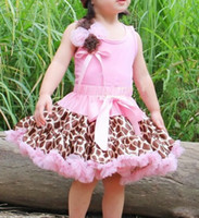 Wholesale girls pink zebra tutu skirts underdress petticoats princess skirt lace short dresses culottes P399